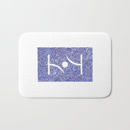 Blue Tao Bath Mat
