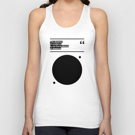 THE ABSENCE OF EVIDENCE Unisex Tank Top