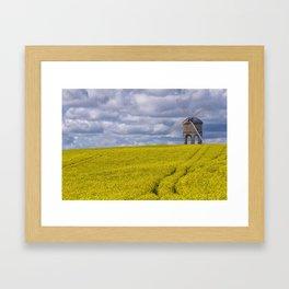 Chesterton Windmill in Warwickshire, United Kingdom Framed Art Print