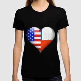 Half American Half Chilean T-shirt