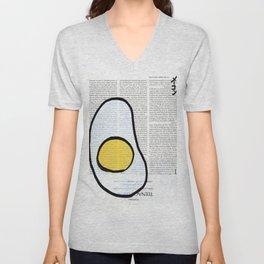 Teenage Dream Fried Egg Unisex V-Neck
