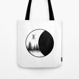 Space Forest Tote Bag