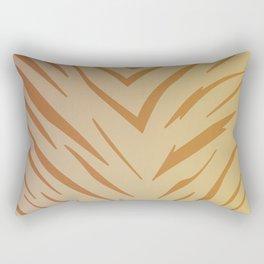 Design exotic lines : gold Rectangular Pillow