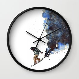 Face Forward Wall Clock