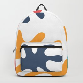 Four colored leaves Backpack