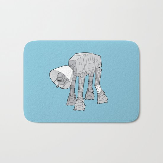 Battle Damage Bath Mat