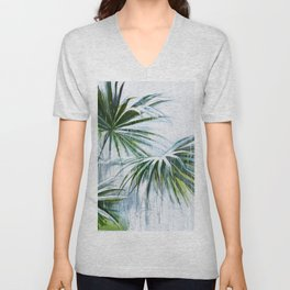 Palm and rain Unisex V-Neck