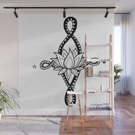 Infinite Lotus Wall Mural