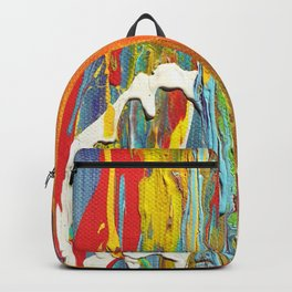 Abstract Circus Clown Backpack