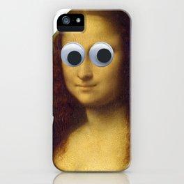 Mona Lisa is Watching You iPhone Case