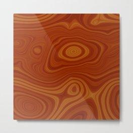 Woodgrain Metal Print