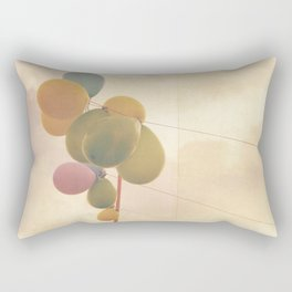 The Vintage Balloons Rectangular Pillow