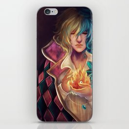 Howl iPhone Skin