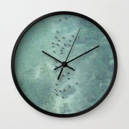 Diminutive Upon The Sea Wall Clock