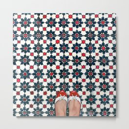 Art Beneath Our Feet - Joo Chiat Metal Print