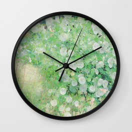 Nature's First Green Wall Clock