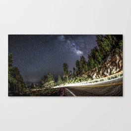 Sandia Crest Road Canvas Print