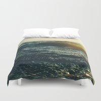 return Duvet Covers featuring Return To Me  by Chelsea Victoria