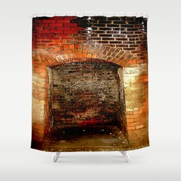 Cheviot Tunnel - Enclaves Shower Curtain
