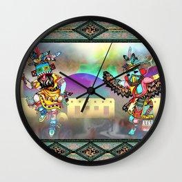 Kachina Eagle Wall Clock
