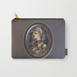 Marooned - Gothic Angel Portrait Carry-All Pouch