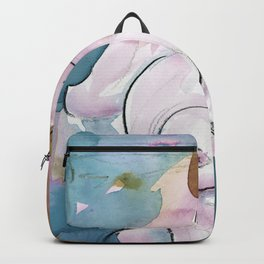 Abstract Nude Goddess 11i by Kathy Morton Stanion Backpack