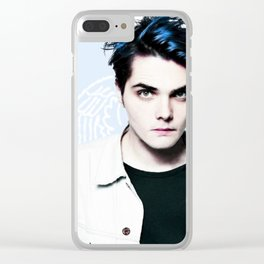 Gerard Way Clear iPhone Case