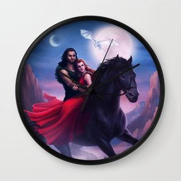 The Tides of Bára Wall Clock