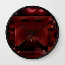 Horror Shrine Wall Clock