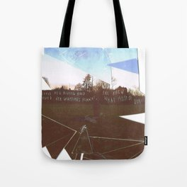SFT cut up Tote Bag