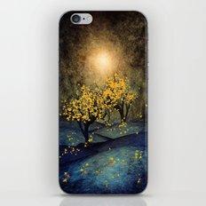 Yellow Autumn iPhone Skin