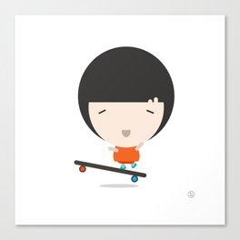 SkateGirl Canvas Print