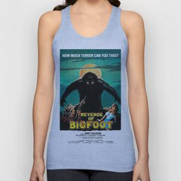 Revenge of Bigfoot, vintage horror movie poster Unisex Tank Top
