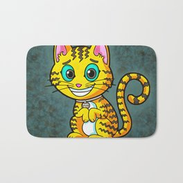 Ziggy Kitty Cat Gifts Bath Mat