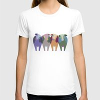 cows T-shirts featuring Confused Cows by TypicalArtGuy