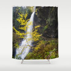 The summer ends  Shower Curtain