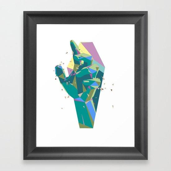 Break On Through To The Other Side Framed Art Print