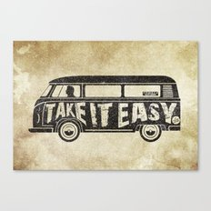 Take it Easy - tribute Canvas Print