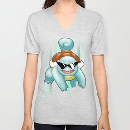 Squirtle Squad Unisex V-Neck