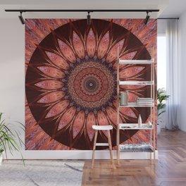 Mandala mystic flower Wall Mural
