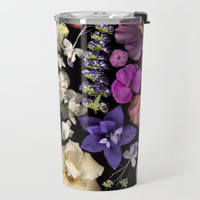 Floral Rainbow Travel Mug