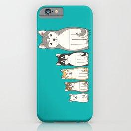 Matryoshka Husky iPhone Case