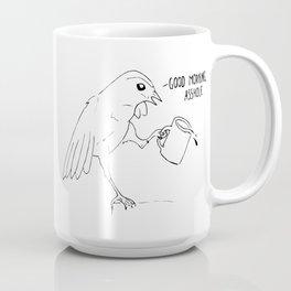 Good Morning Bird Coffee Mug