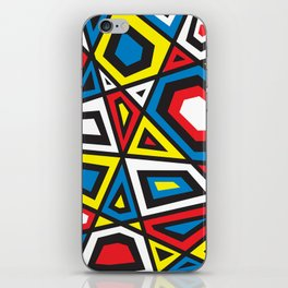 Primary colors 7 iPhone Skin