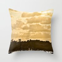 the shining Throw Pillows featuring Shining by JJ Images