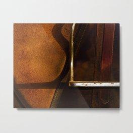 Stirrup // Horse Tack Metal Print