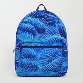 Coral Blue Backpack