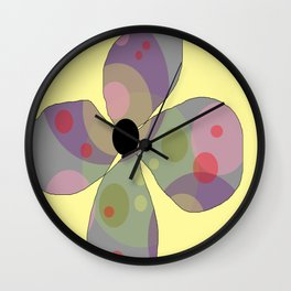 FLOWERY  FREYA / ORIGINAL DANISH DESIGN bykazandholly Wall Clock