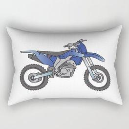 Motocross motorcycle Rectangular Pillow