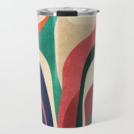 Impossible contour map Travel Mug